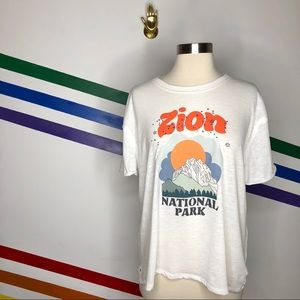 NEW We the Free Zion national park oversized tee